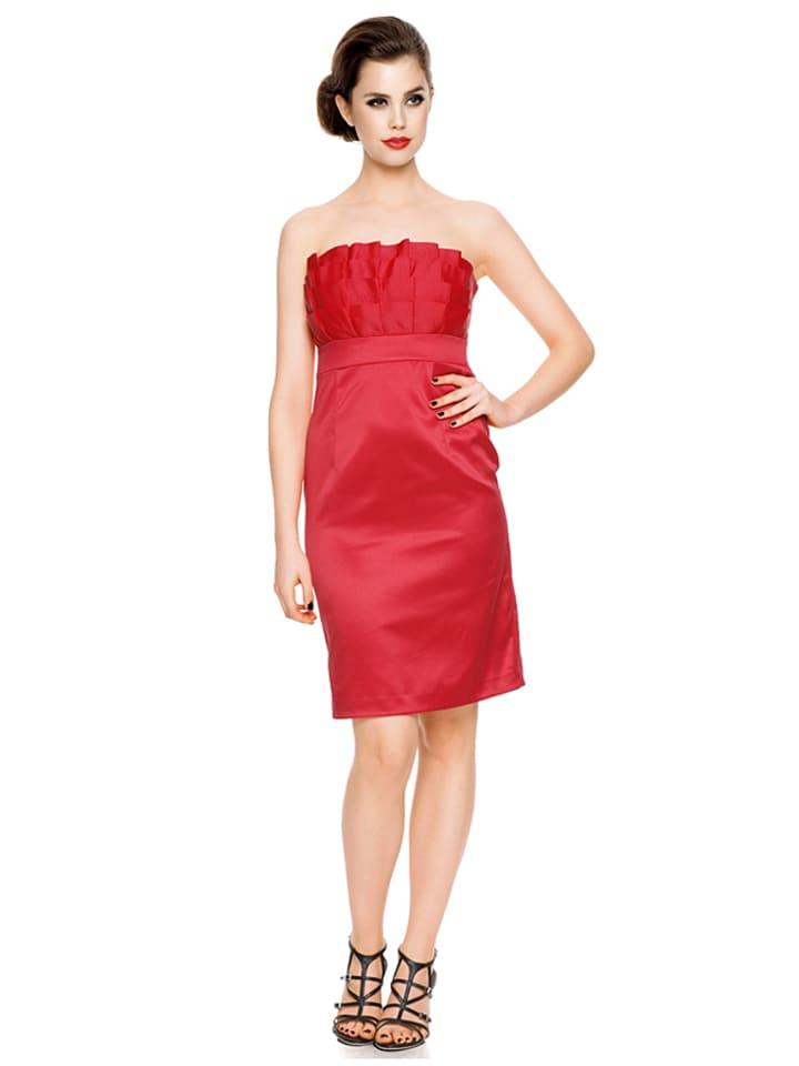 ashley brooke event jurk rood. Black Bedroom Furniture Sets. Home Design Ideas